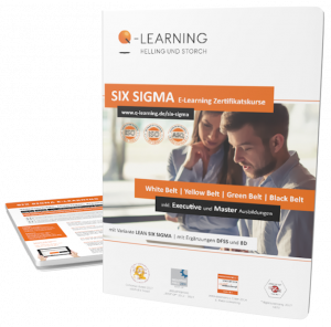 Q-LEARNING Broschüre LEAN SIX SIGMA