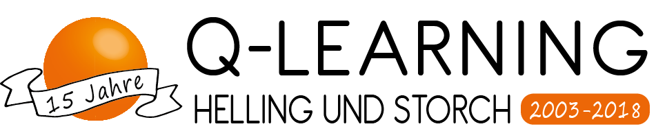 15 Jahre Q-LEARNING Logo