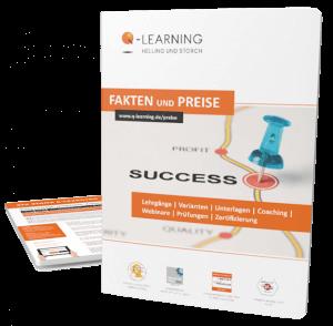 Q-LEARNING Broschüre LEAN + SIX SIGMA E-Learning Zertifikatskurse