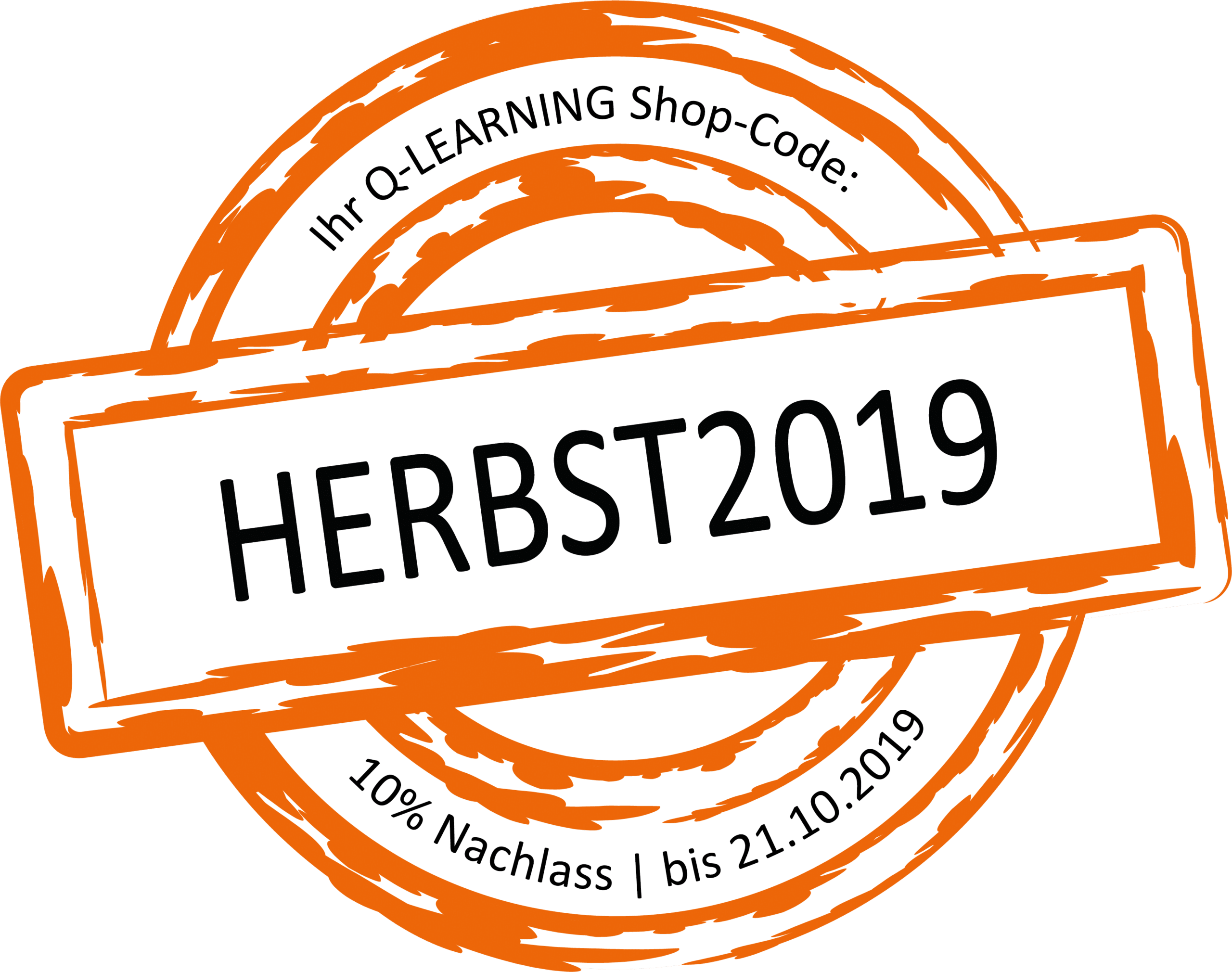 Q-LEARNING Herbstaktion 2019