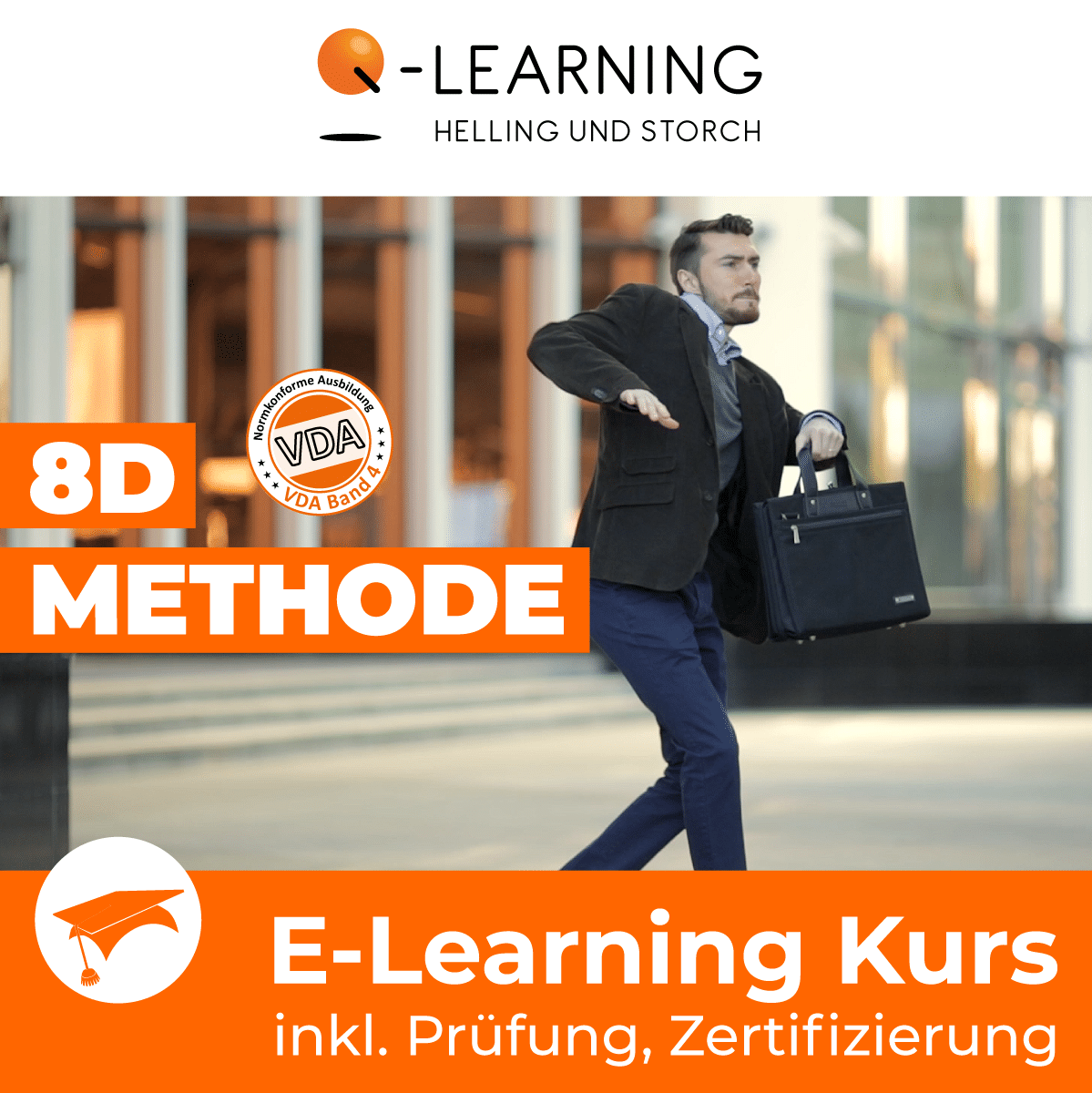Produktbild 8D Methode E-Learning Kurs