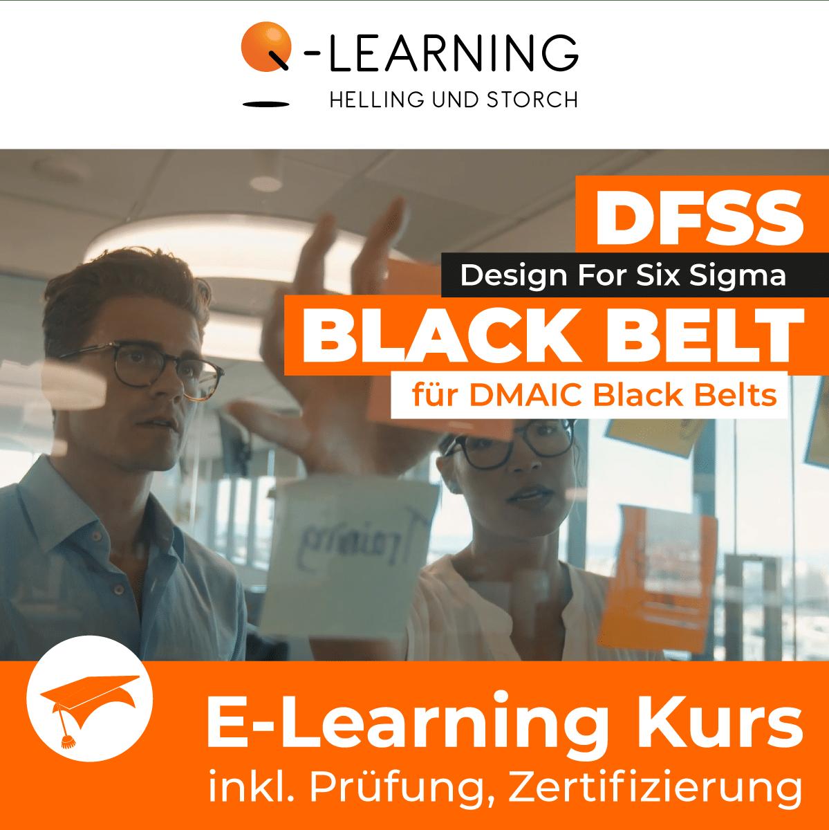 Produktbild DFSS BLACKBELT für SIX SIGMA BLACK BELT E-Learning Kurs