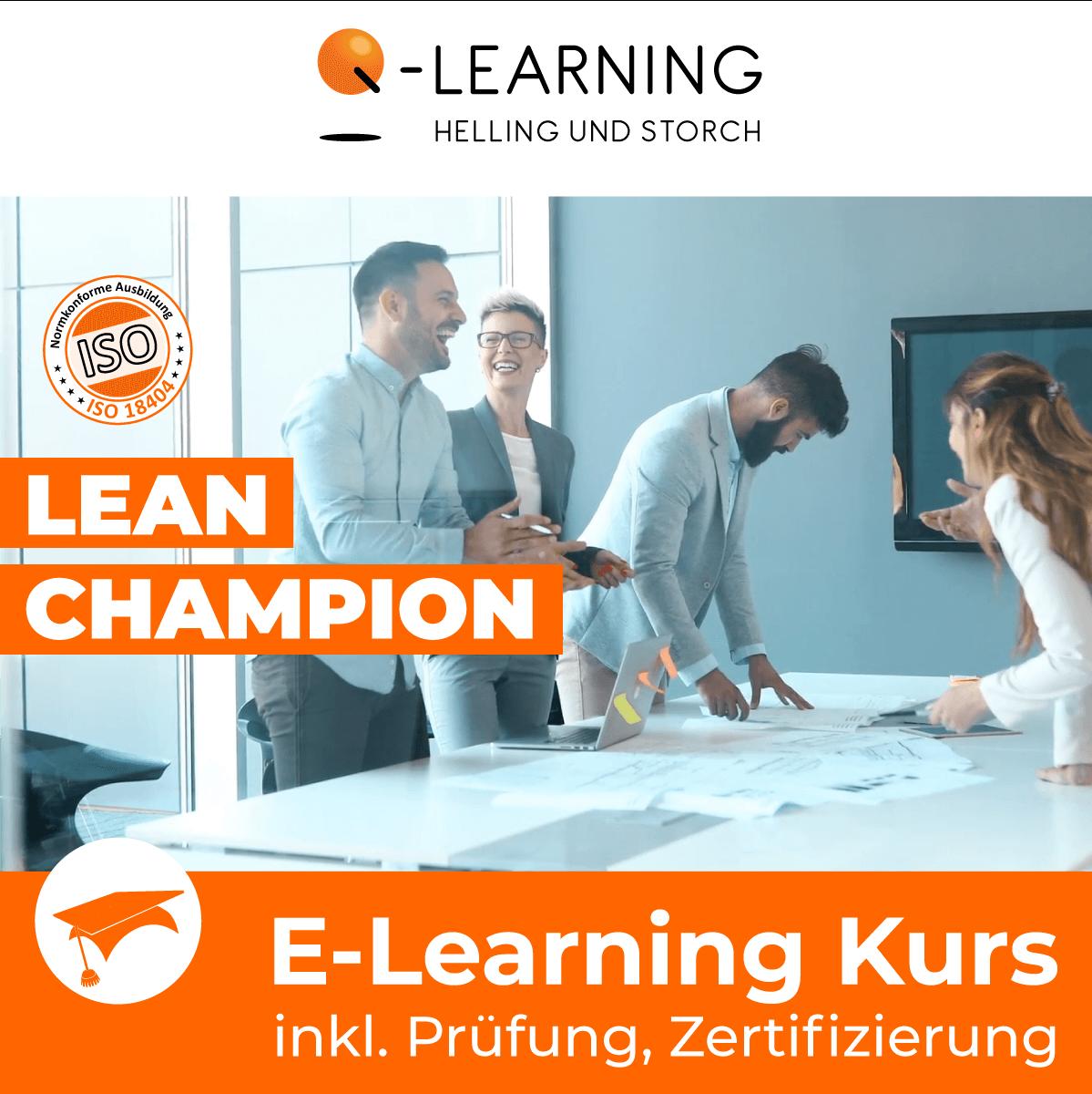 Produktbild LEAN CHAMPION E-Learning Kurs