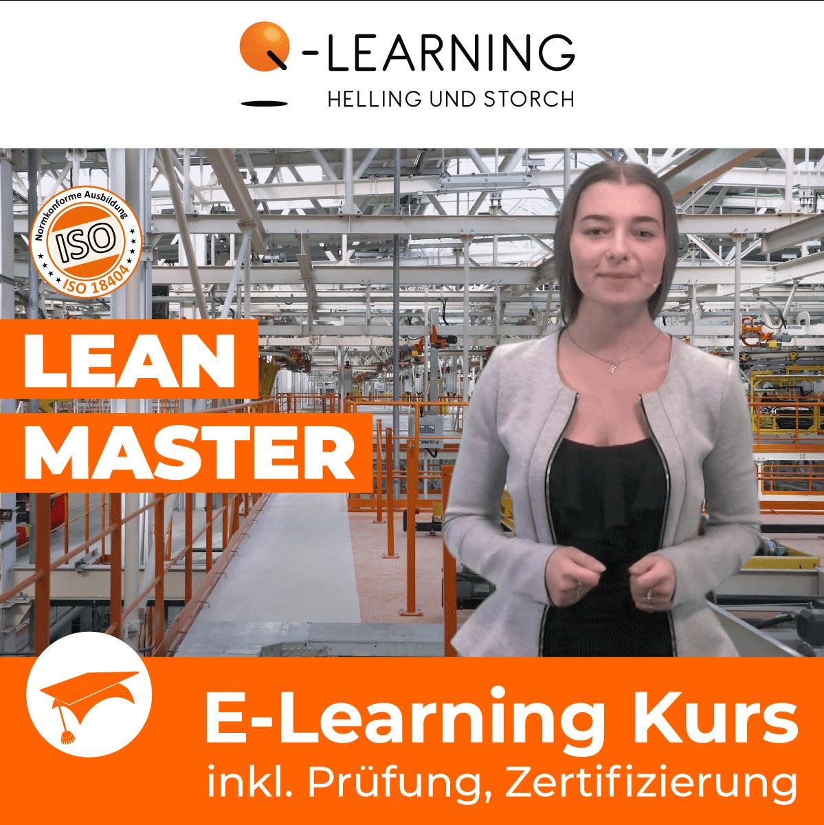 Produktbild LEAN MASTER E-Learning Kurs