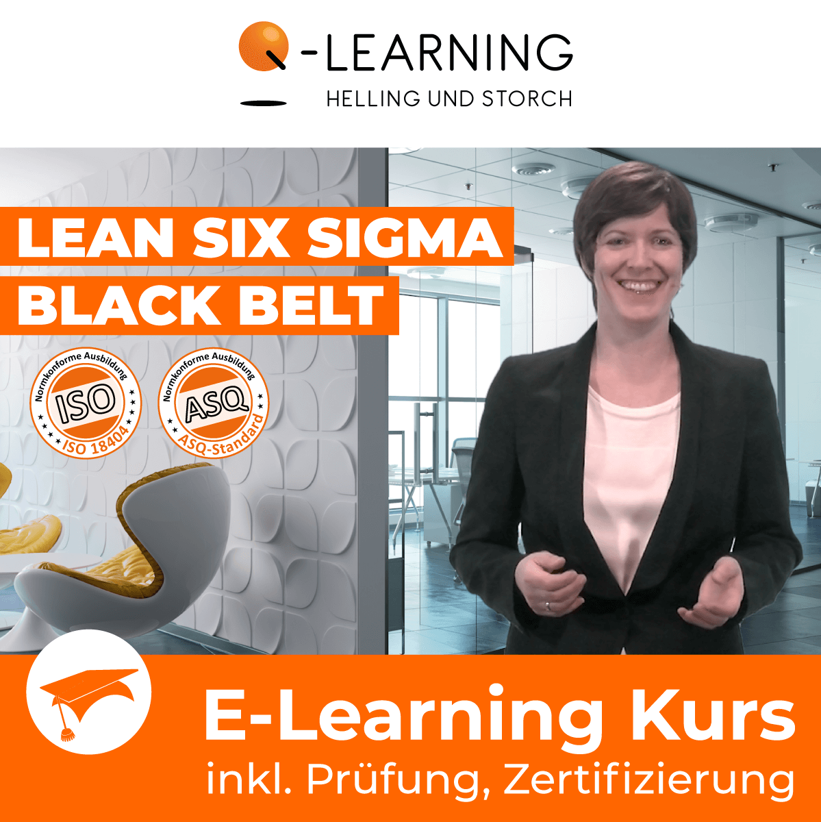 Produktbild LEAN + SIX SIGMA BLACK BELT E-Learning Kurs