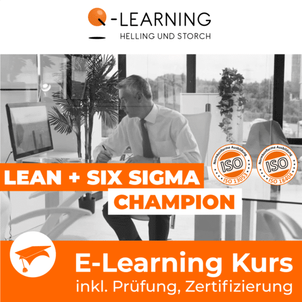 LEAN + SIX SIGMA CHAMPION E-Learning