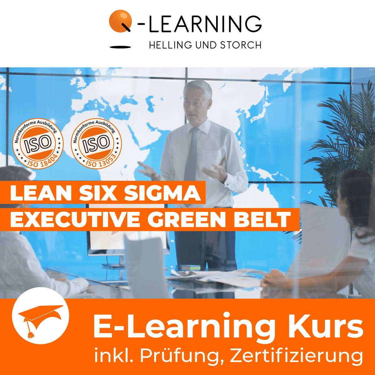 Produktbild LEAN + SIX SIGMA EXECUTIVE GREEN BELT E-Learning Kurs