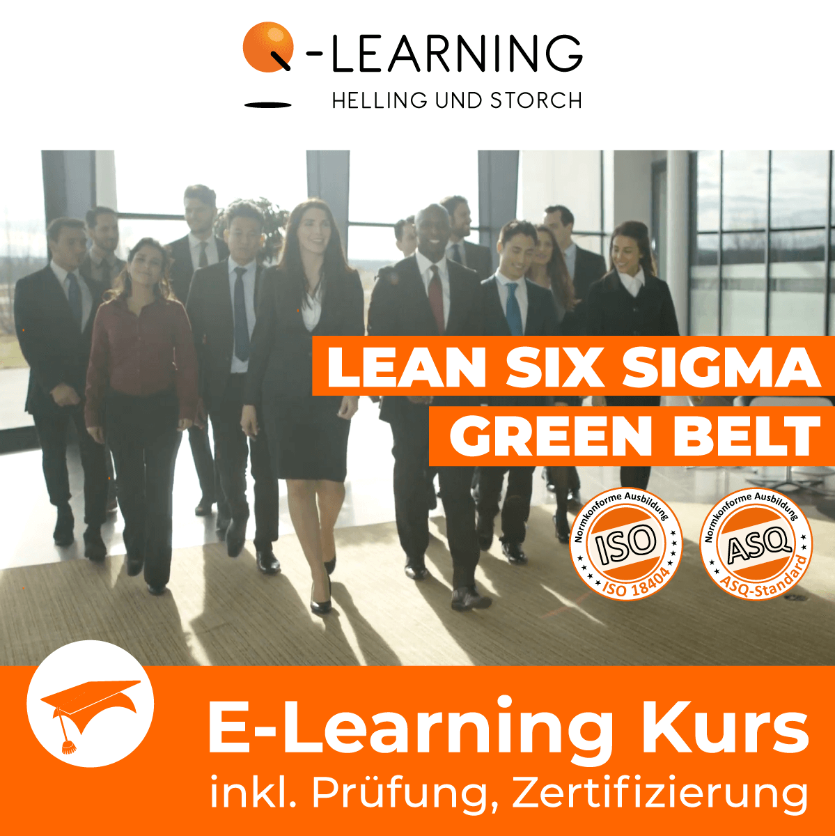 Produktbild LEAN + SIX SIGMA GREEN BELT E-Learning Kurs