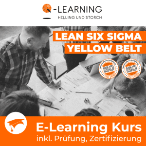 Produktbild LEAN SIX SIGMA YELLOW BELT E-Learning Kurs