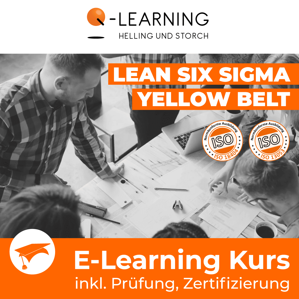 Produktbild LEAN + SIX SIGMA YELLOW BELT E-Learning Kurs