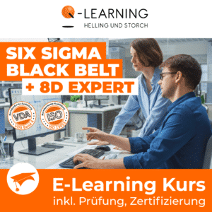 SIX SIGMA BLACK BELT + 8D EXPERT E-Learning