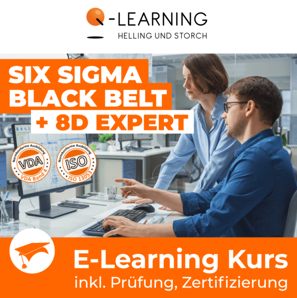SIX SIGMA BLACK BELT + 8D EXPERT E-Learning