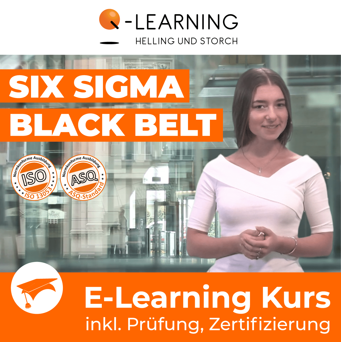 Produktbild SIX SIGMA BLACK BELT E-Learning Kurs