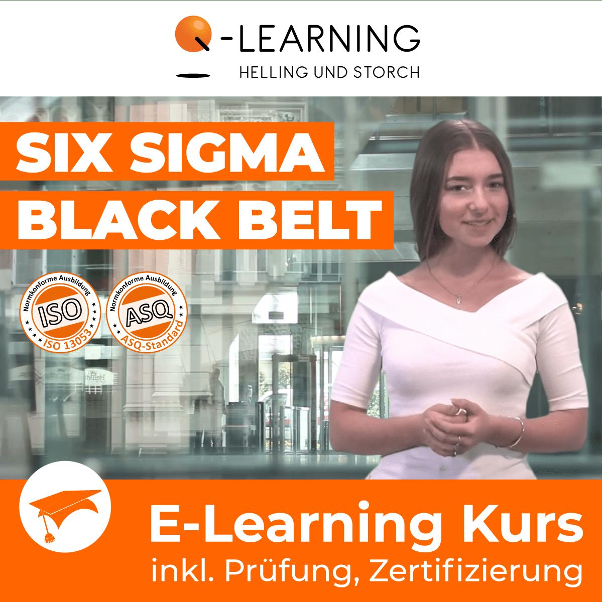 Produktbild SIX SIGMA BLACK BELT E-Learning Kurs für Studenten