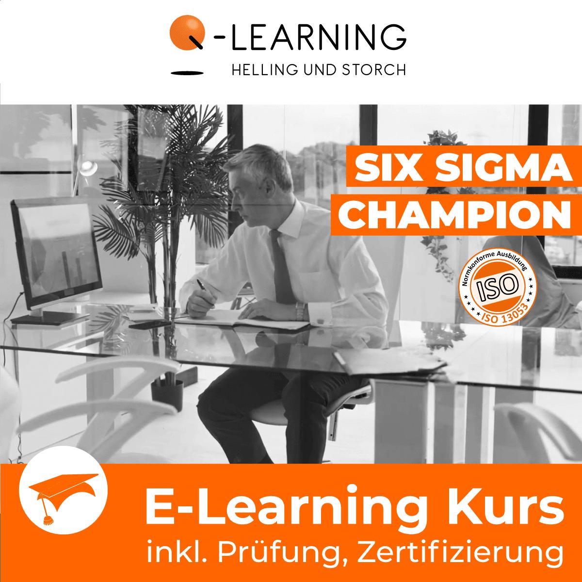 SIX SIGMA CHAMPION E-Learning