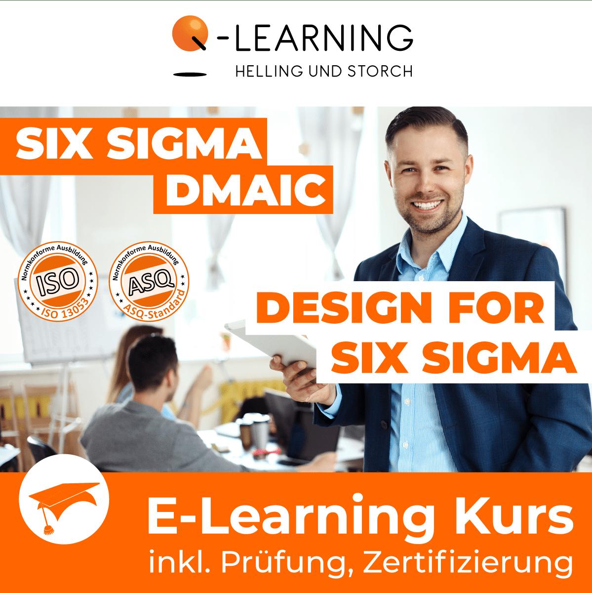 Produktbild DFSS + SIX SIGMA BLACK BELT E-Learning Kurs