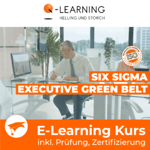 Produktbild SIX SIGMA EXECUTIVE GREEN BELT E-Learning Kurs