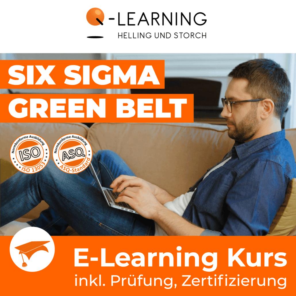 Produktbild SIX SIGMA GREEN BELT E-Learning Kurs