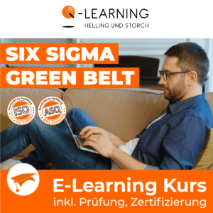 Produktbild SIX SIGMA GREEN BELT E-Learning Kurs