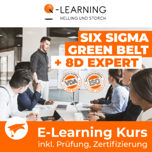 SIX SIGMA GREEN BELT + 8D EXPERT E-Learning