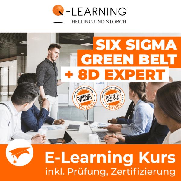 SIX SIGMA GREEN BELT + 8D EXPERT E-Learning