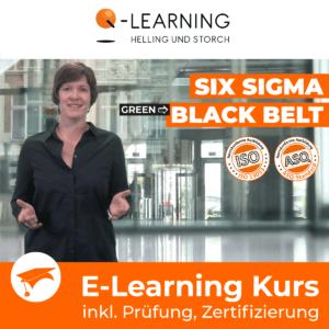 SIX SIGMA GREEN → BLACK BELT E-Learning