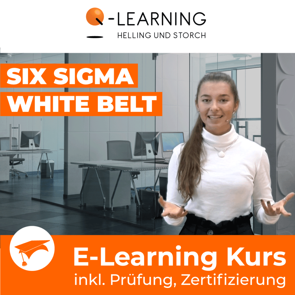 Produktbild SIX SIGMA WHITE BELT E-Learning Kurs