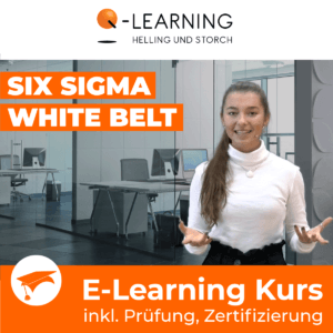 Produktbild SIX SIGMA WHITE BELT E-Learning Kurs