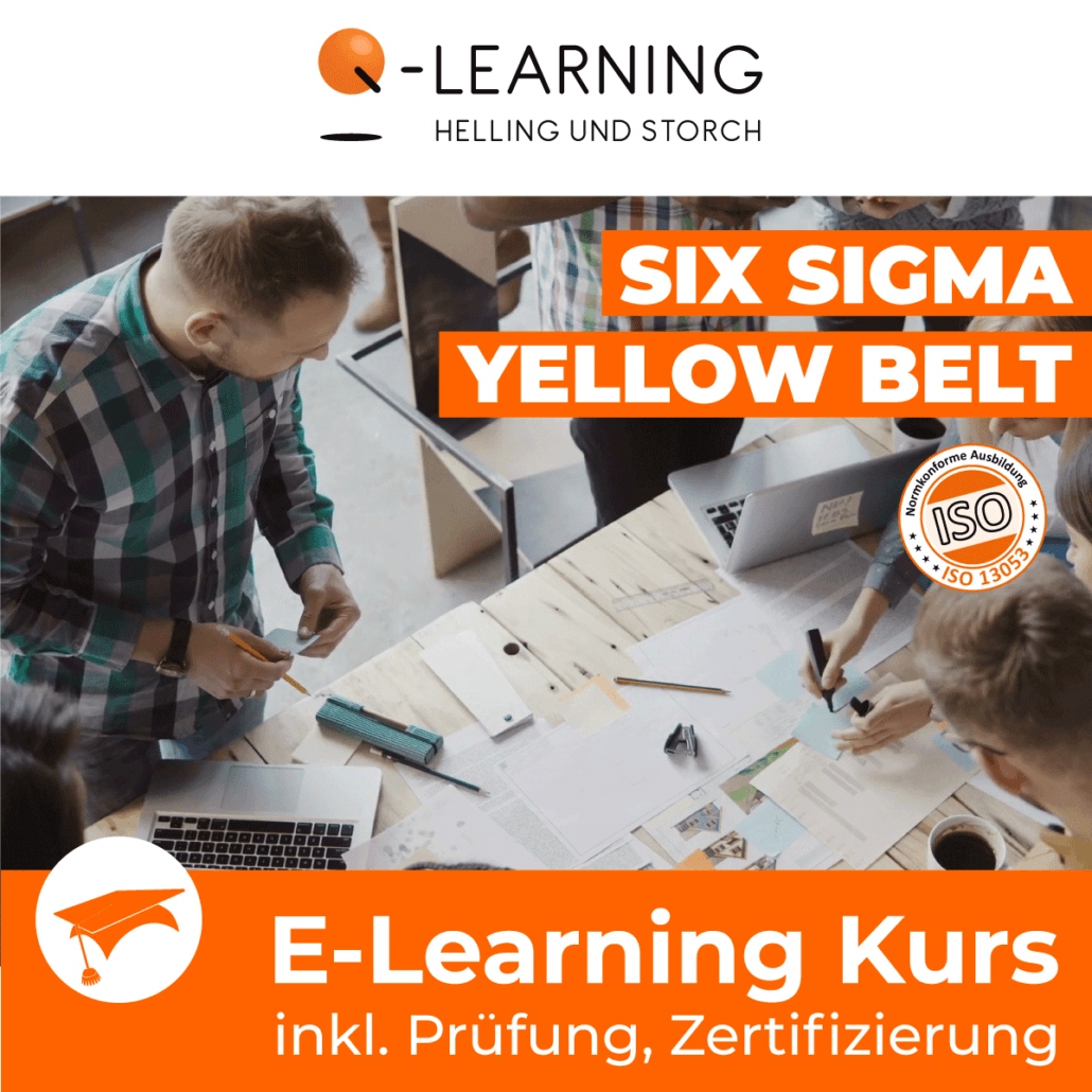 Produktbild SIX SIGMA YELLOW BELT E-Learning Kurs