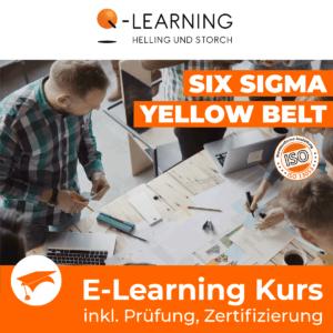 Produktbild SIX SIGMA YELLOW BELT E-Learning Kurs