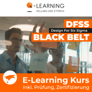 Produktbild DESIGN FOR SIX SIGMA BLACK BELT E-Learning Kurs