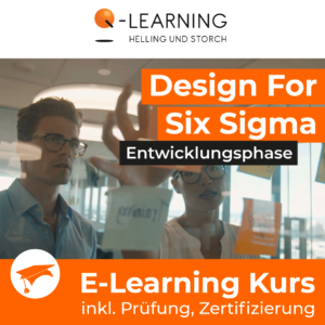 Produktbild DESIGN FOR SIX SIGMA Entwicklungsphase E-Learning Kurs