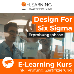 Produktbild DESIGN FOR SIX SIGMA Eroberungsphase E-Learning Kurs