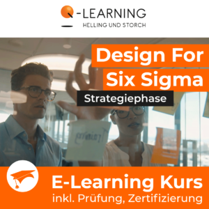 Produktbild DESIGN FOR SIX SIGMA Strategiephase E-Learning Kurs