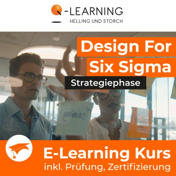 Produktbild DESIGN FOR SIX SIGMA Strategiephase E-Learning Kurs