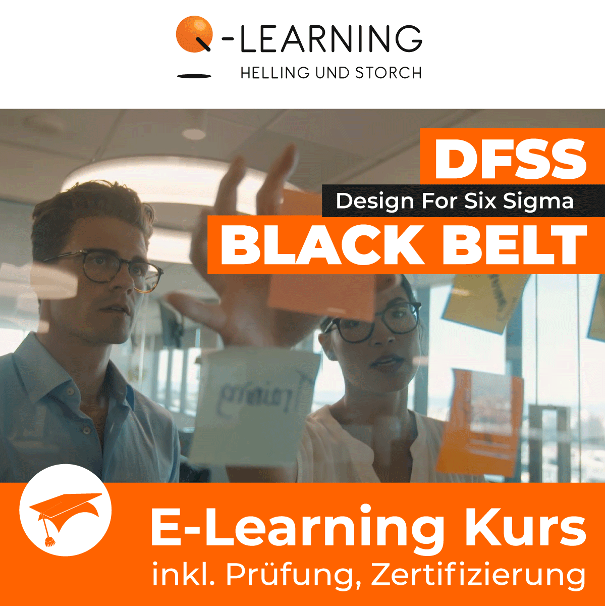 Produktbild DESIGN FOR SIX SIGMA BLACK BELT E-Learning Kurs