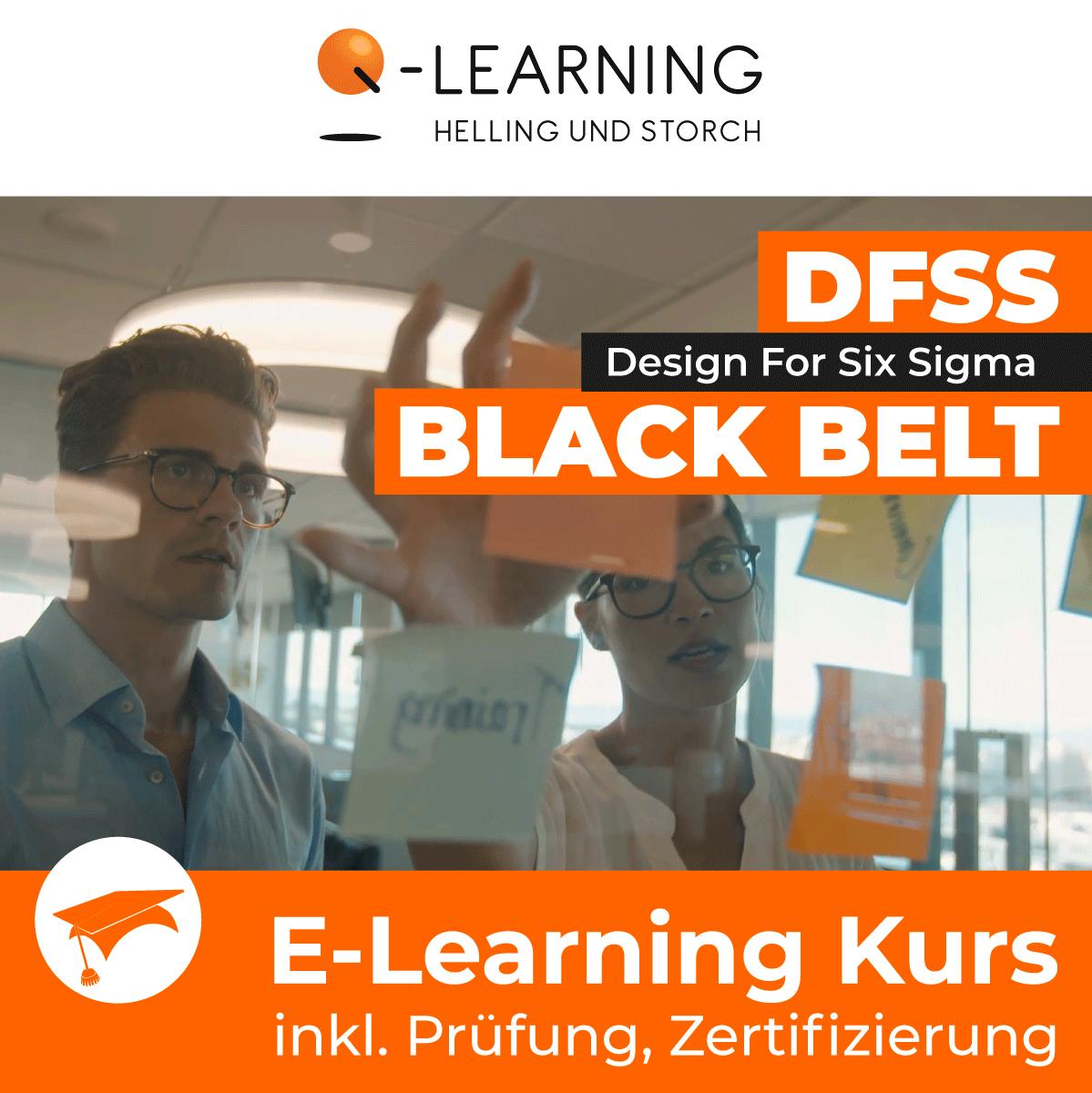 Produktbild DESIGN FOR SIX SIGMA BLACK BELT E-Learning Kurs für Studenten