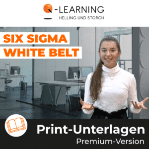 SIX SIGMA WHITE BELT Print-Unterlagen
