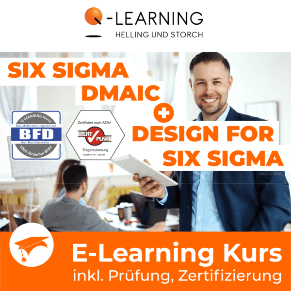 SIX SIGMA DMAIC DFSS E-Learning BFD