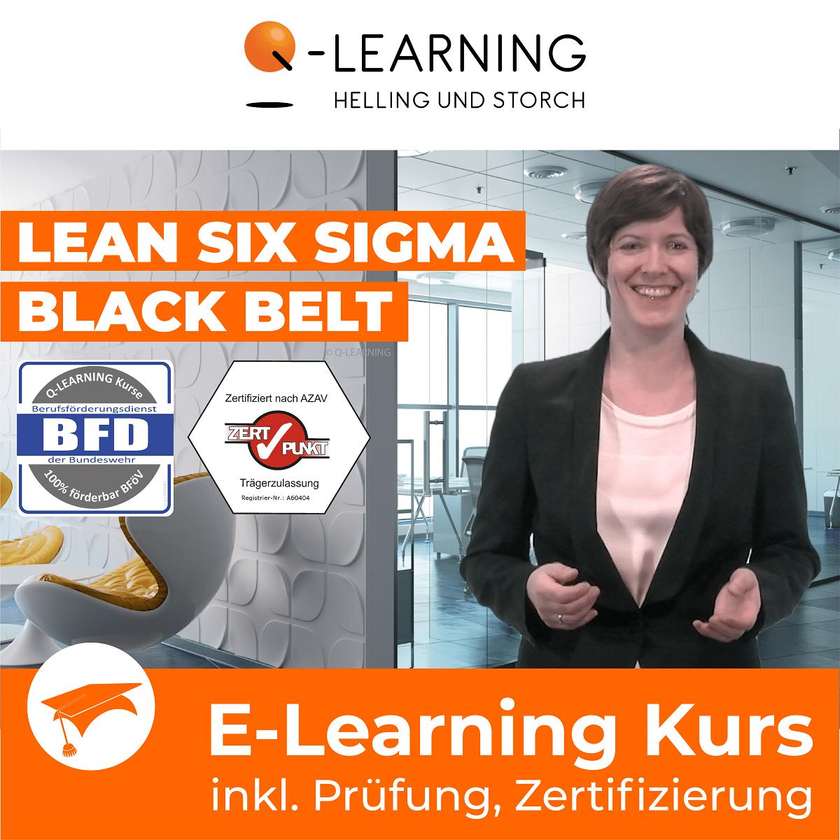 Produktbild LEAN +SIX SIGMA BLACK BELT | BFD