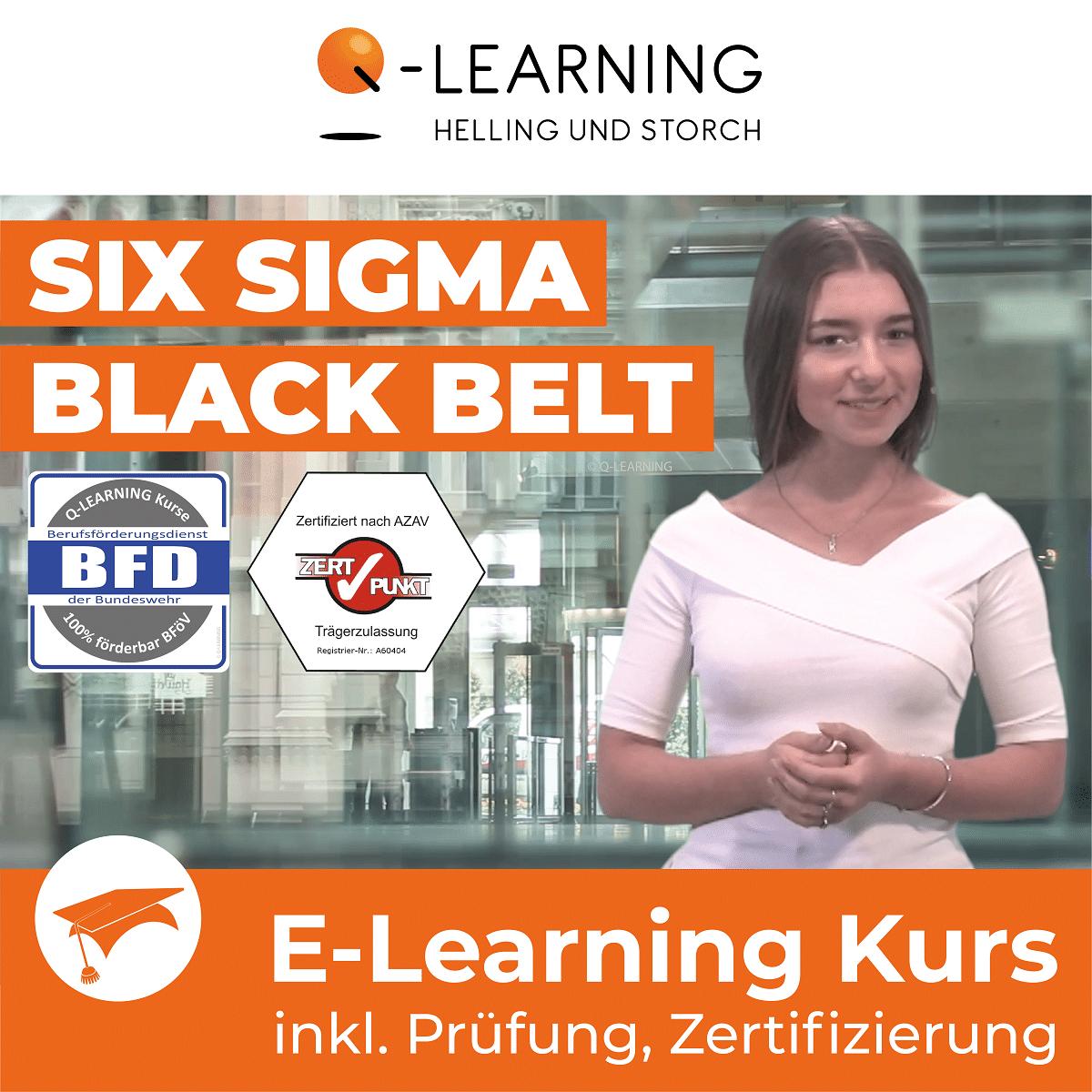 Produktbild SIX SIGMA BLACK BELT | BFD