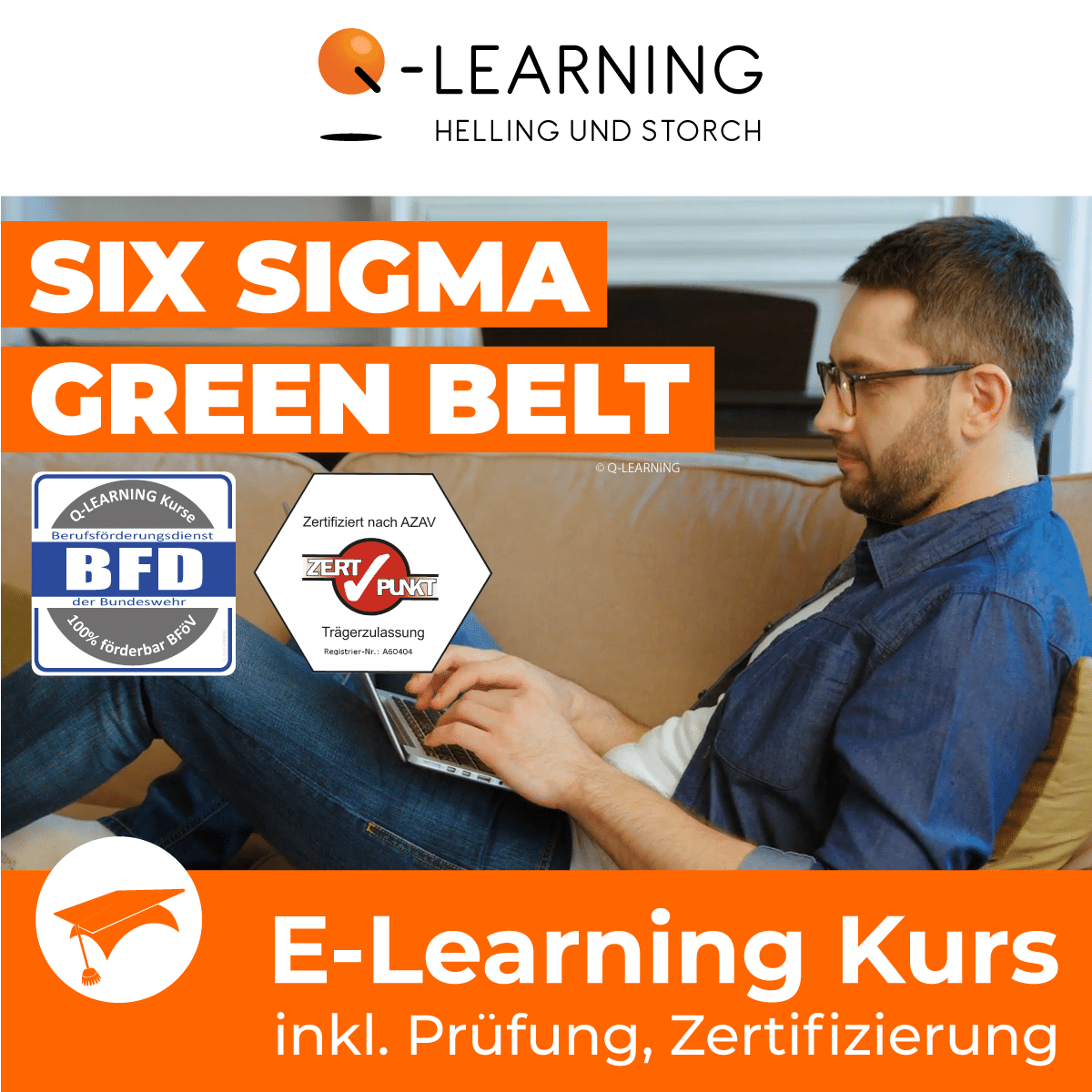 Produktbild SIX SIGMA GREEN BELT | BFD E-Learning Kurs