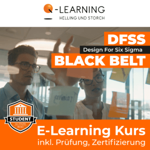 Produktbild DESIGN FOR SIX SIGMA BLACK BELT Studenten E-Learning Kurs