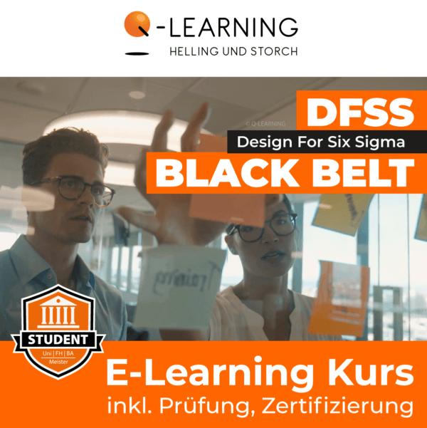 Produktbild DESIGN FOR SIX SIGMA BLACK BELT Studenten E-Learning Kurs