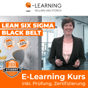 Produktbild LEAN SIX SIGMA BLACK BELT Studenten E-Learning Kurs