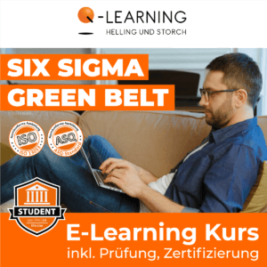 Produktbild SIX SIGMA GREEN BELT Studenten E-Learning Kurs