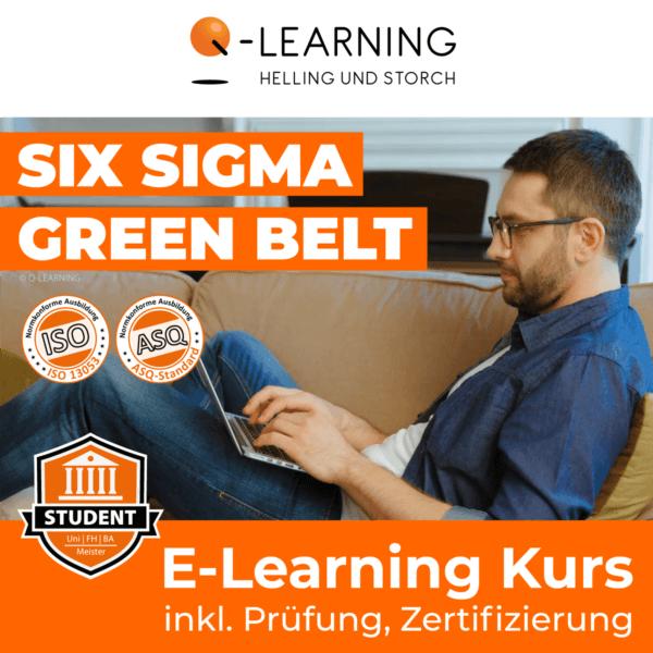 Produktbild SIX SIGMA GREEN BELT Studenten E-Learning Kurs