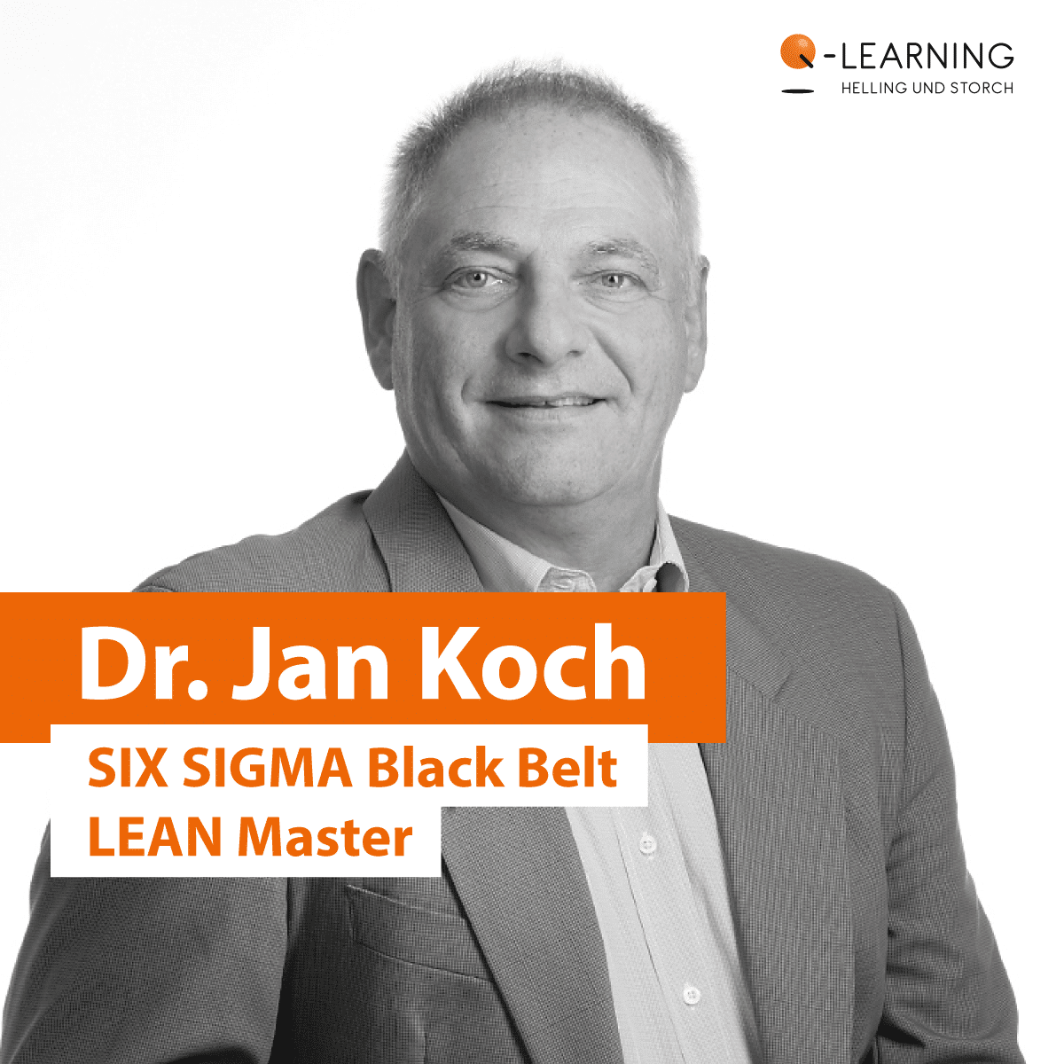 Portrait Bewertung Dr. Jan Koch | SIX SIGMA Black Belt LEAN Master