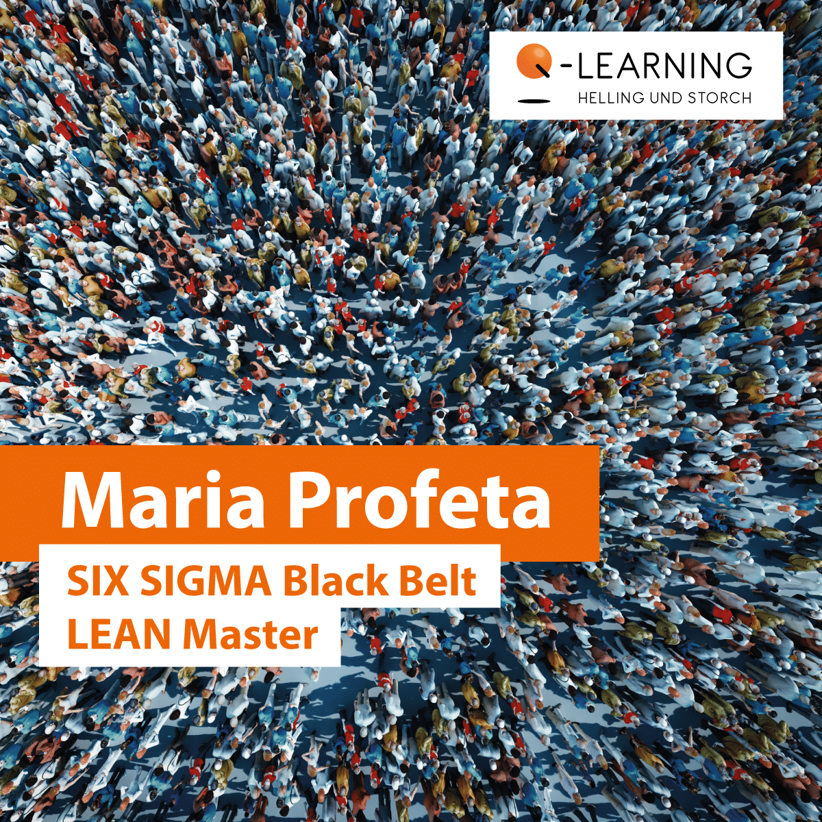 Portrait Bewertung Maria Profeta | SIX SIGMA Black Belt LEAN Master