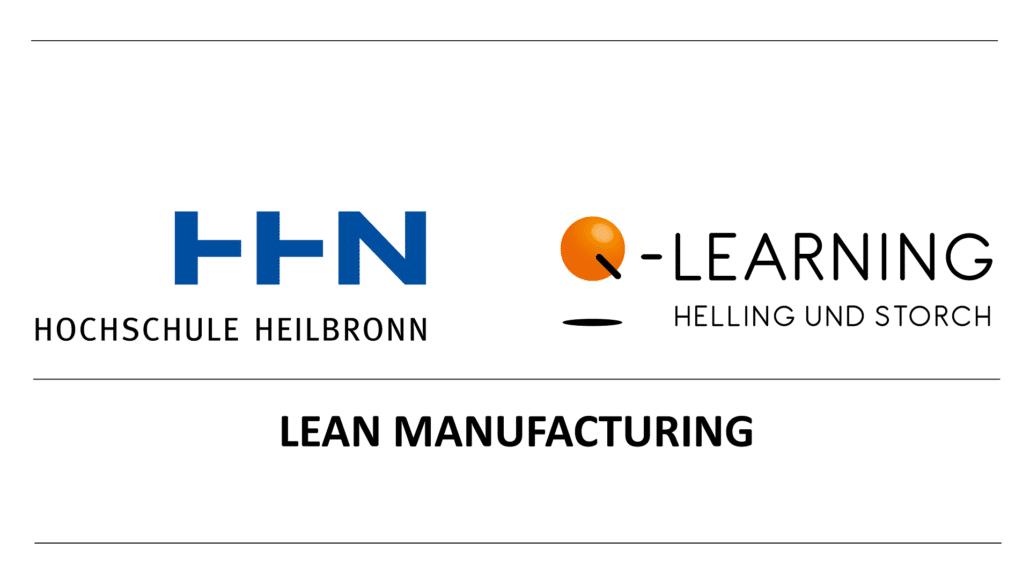 Q-LEARNING Kooperation mit der Hochschule Heilbronn